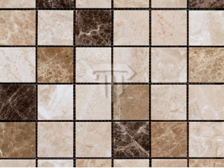 Emperador Mix Marble Mosaic (Polished)