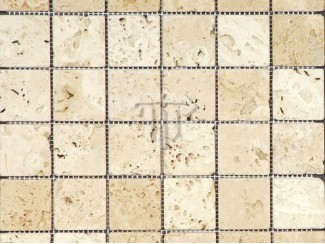Antique Travertine Mosaic (Tumbled)