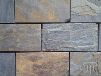 Multicolour Brick Slate (Riven)